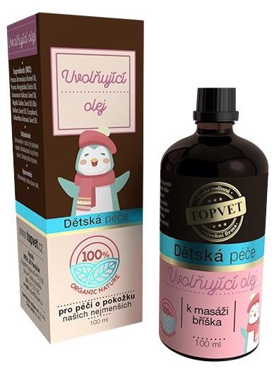 Topvet Detská starostlivosť Uvoľňujúci olej 100ml