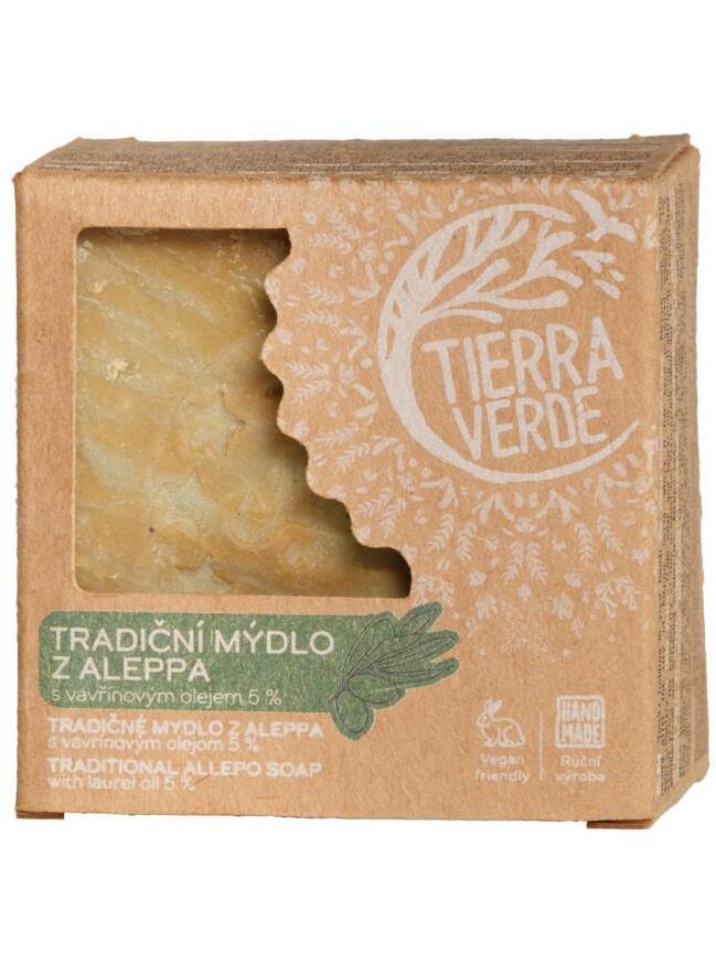 Tierra Verde Tradičné mydlo z ALEPPA s vavrínovým olejom 190g