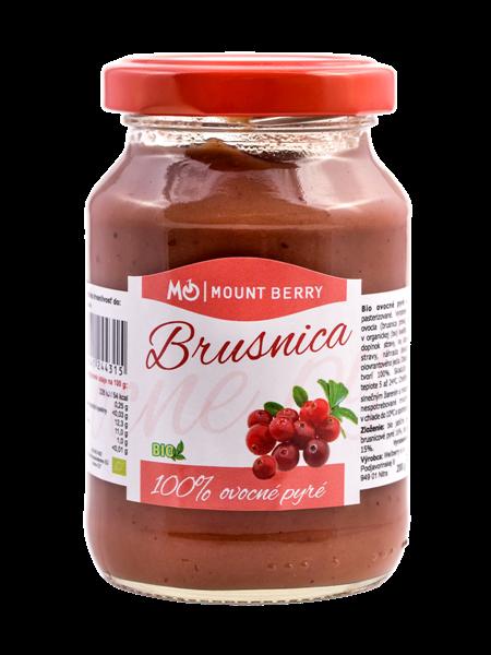 Brusnicová výživa - 100% ovocné pyré