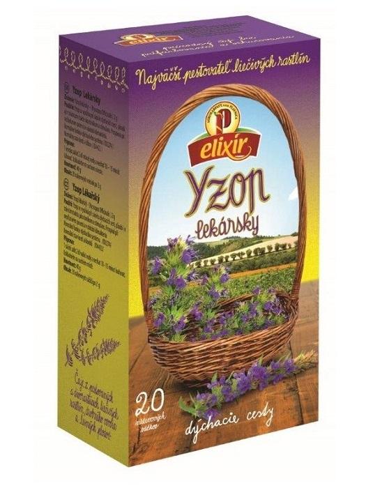 Agrokarpaty yzop lekársky bylinný čaj 20x2g