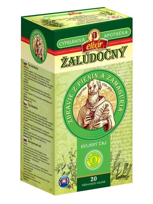 Agrokarpaty cypriánová apothéka žalúdočný bylinný čaj 20x2g