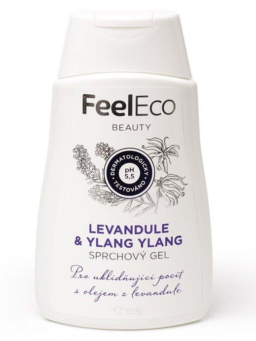 Feel Eco Sprchový gél Levanduľa & Ylang-Ylang 300ml
