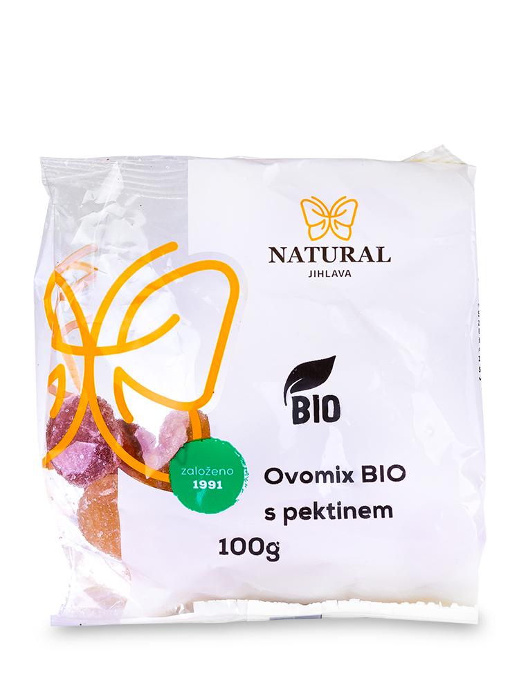 Natural Jihlava Ovomix BIO s pektínom 100g