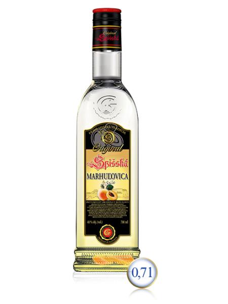 Spišská marhuľovica ORIGINAL 40% 0,7l