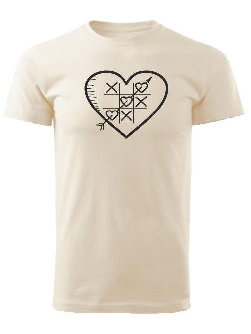 Tričko piškôrky Unisex Natural