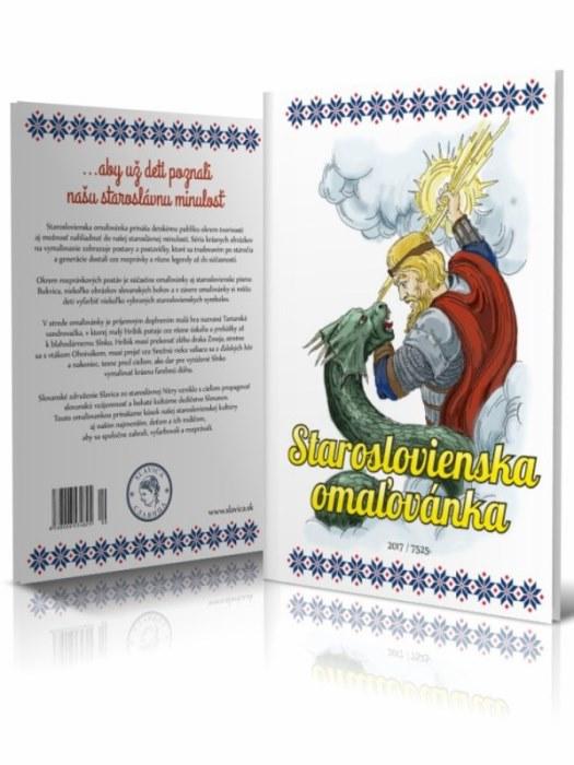 Staroslovienska omaľovánka