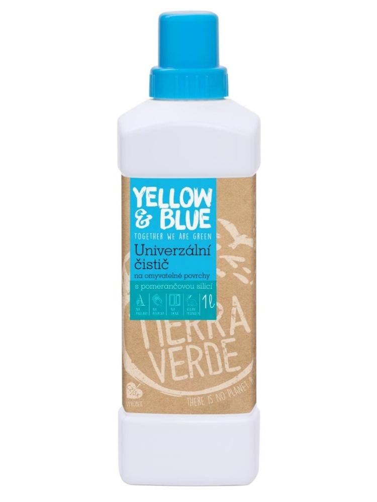Tierra Verde univerzálny čistič s pomarančovou silicou - fľaša 1L