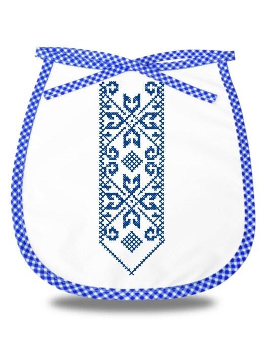 Detský podbradník folklórna kravata Modrý