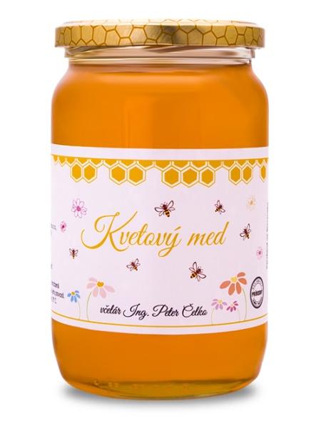 Kvetový slnečnicový včelí med 950g
