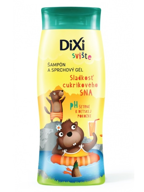 DIXI Šampón a sprchový gél Sladkosť cukríkového sna Svište 250ml