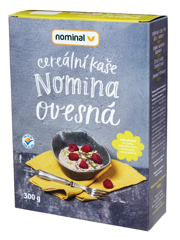 Nominal Cereálna ovsená kaša NOMINA 300g