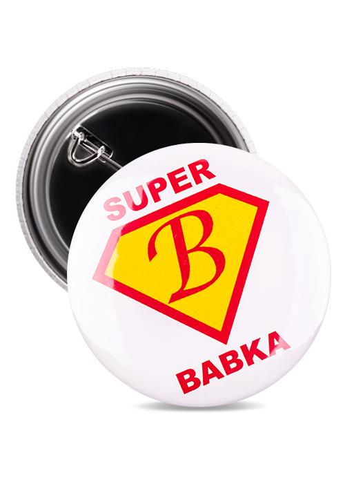 Odznak super babka