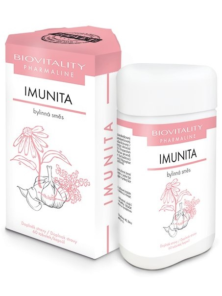 Topvet Imunita bylinná zmes 60 kapsúl