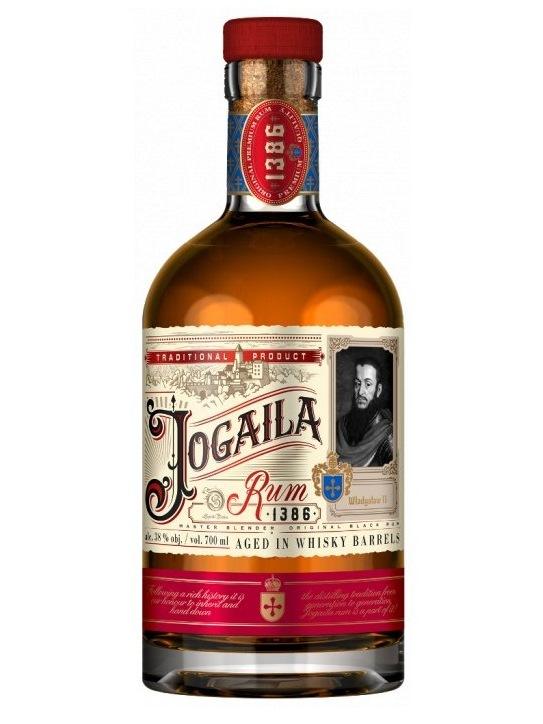 Rum Jogaila Black 38% 0,7L