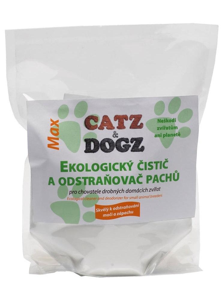 Tierra Verde MAX EKO univerzálny čistič a odstraňovač pachov s pomarančovou vôňou pre chovateľov - zip sáčok 1kg