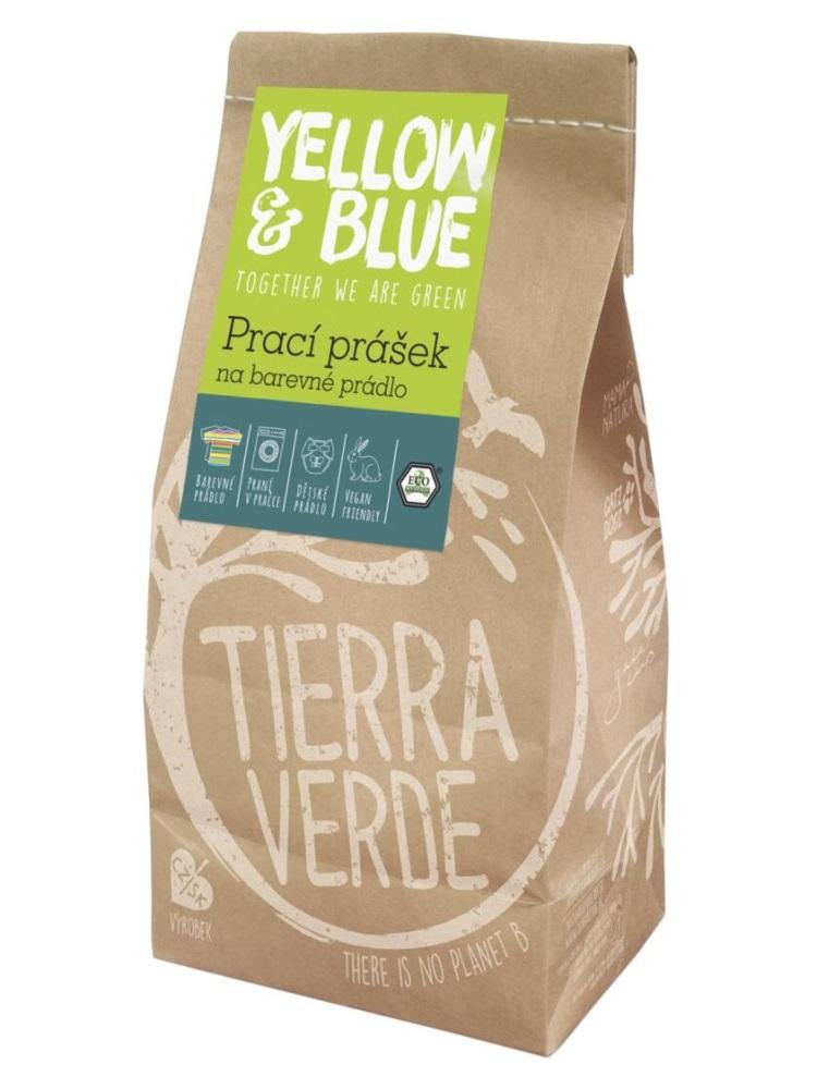 Tierra Verde prací prášok na farebné prádlo - vrecko 850g