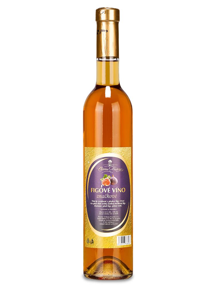 Figové víno Château Krupina 0,5L