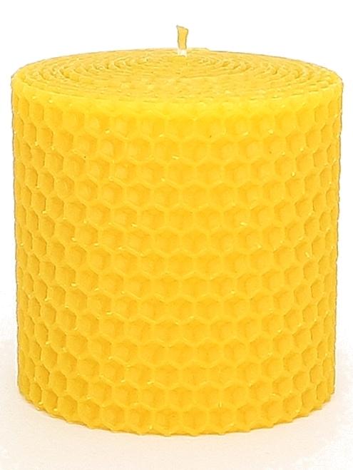 Sviečka včelí vosk žltá 67mm/70mm