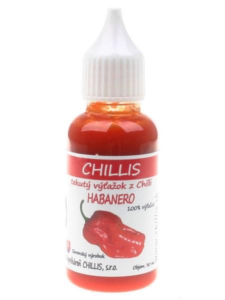 Habanero red - tekuté chilli 30ml