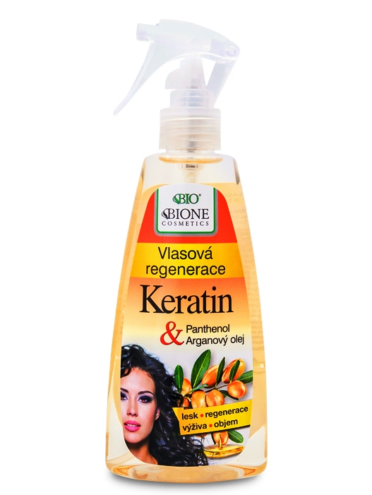 Bione Cosmetics - Vlasová regenerácia Keratin + Arganový olej 260ml