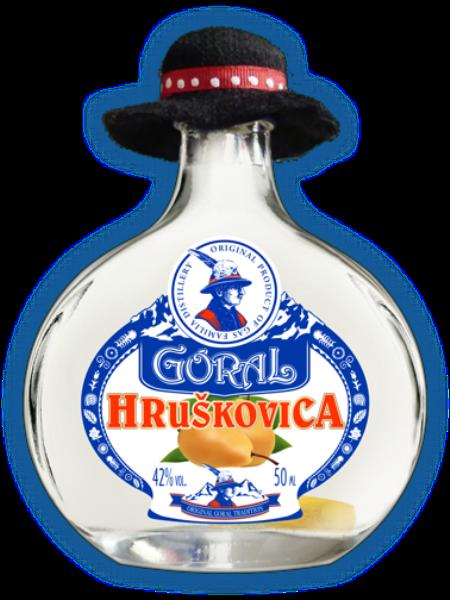 Goral Hruškovica 42% 0,05l