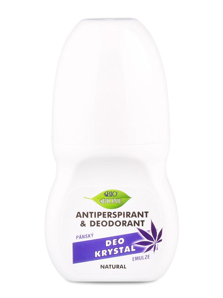 Bione Cosmetics - Antiperspirant & deodorant Deo Krystal pánsky 80ml