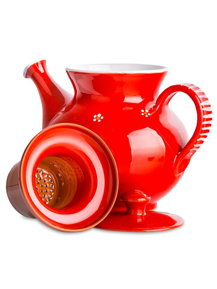 Čajník veľký - červený