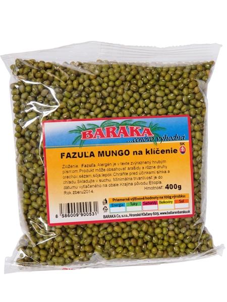 BARAKA Fazuľa Mungo - na klíčenie 400g