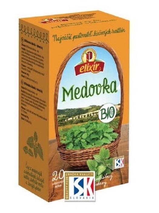 Agrokarpaty medovka bio bylinný čaj 20x2g