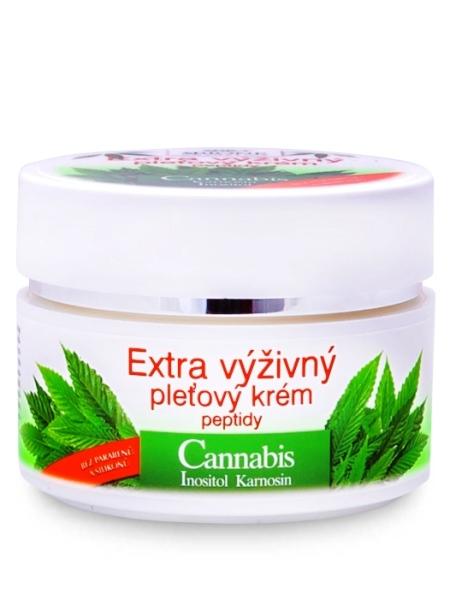 Bione Cosmetics - Extra výživný pleťový krém Cannabis 51ml