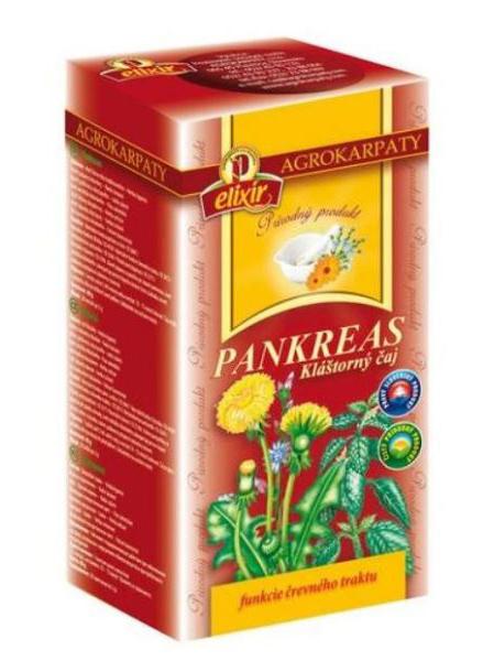 Agrokarpaty pankreas kláštorný čaj 20x2g