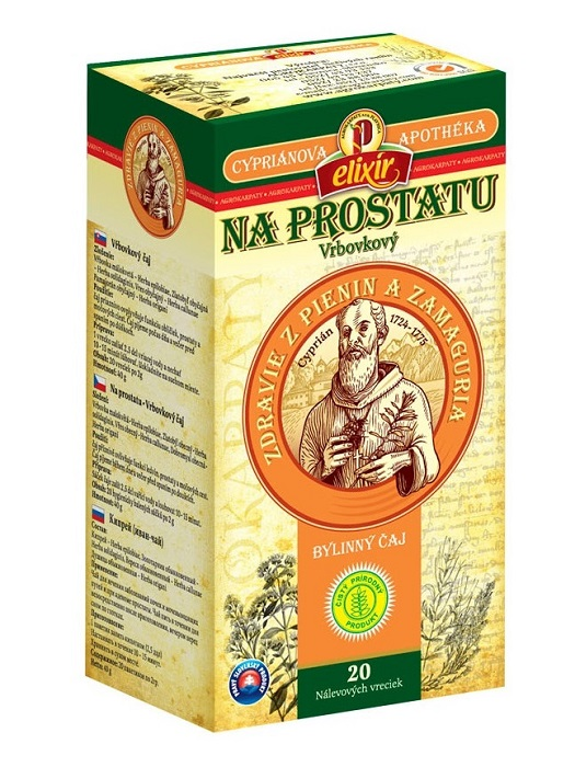 Agrokarpaty cypriánová apothéka na prostatu bylinný čaj 20x2g