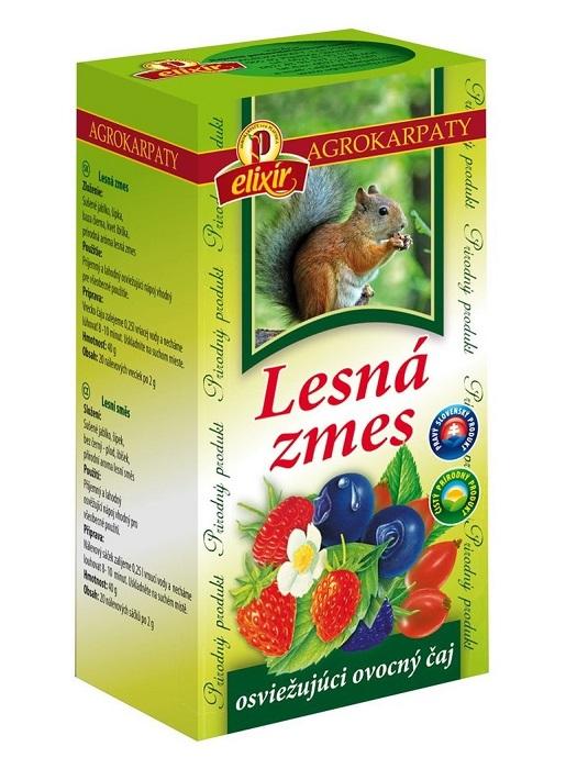 Agrokarpaty ovocný čaj lesná zmes 20x2g