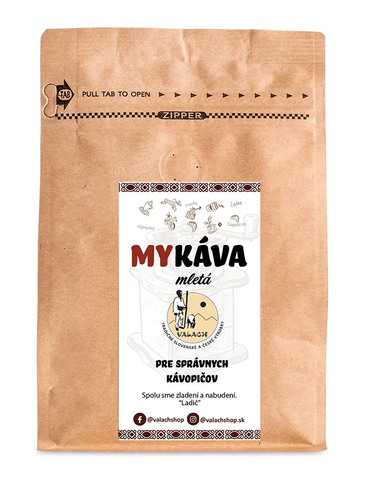 My káva mletá 100% Arabica 250g