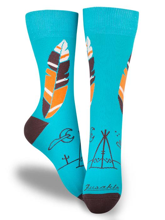 Fusakle ponožky Apač