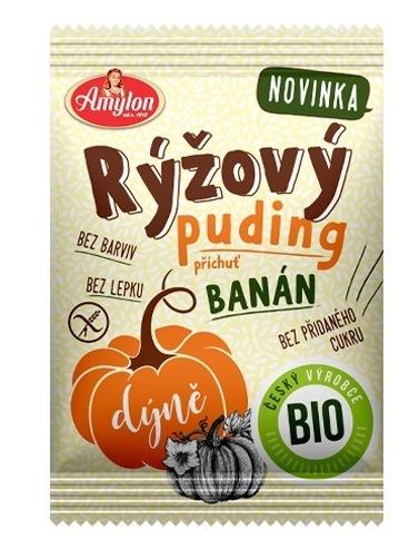 Amylon Puding ryžový - tekvica, banán BIO 40g