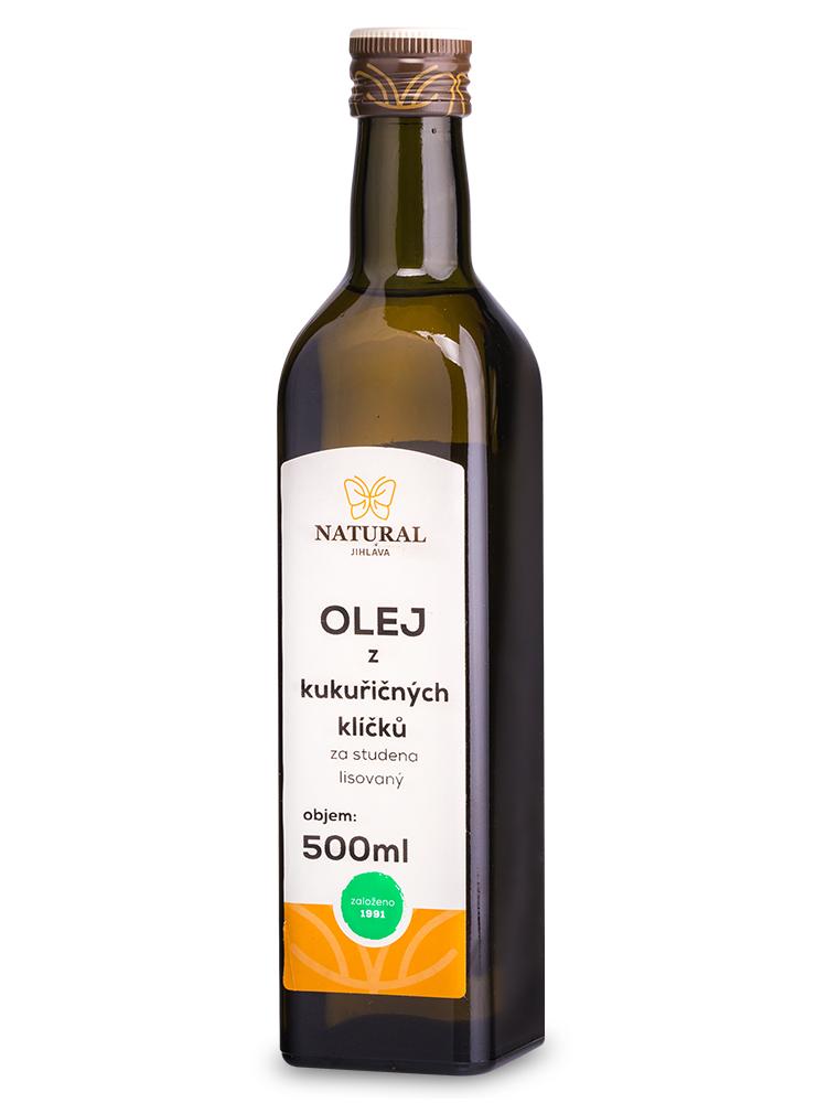 Olej z kukuričných klíčkov NATURAL 500ml