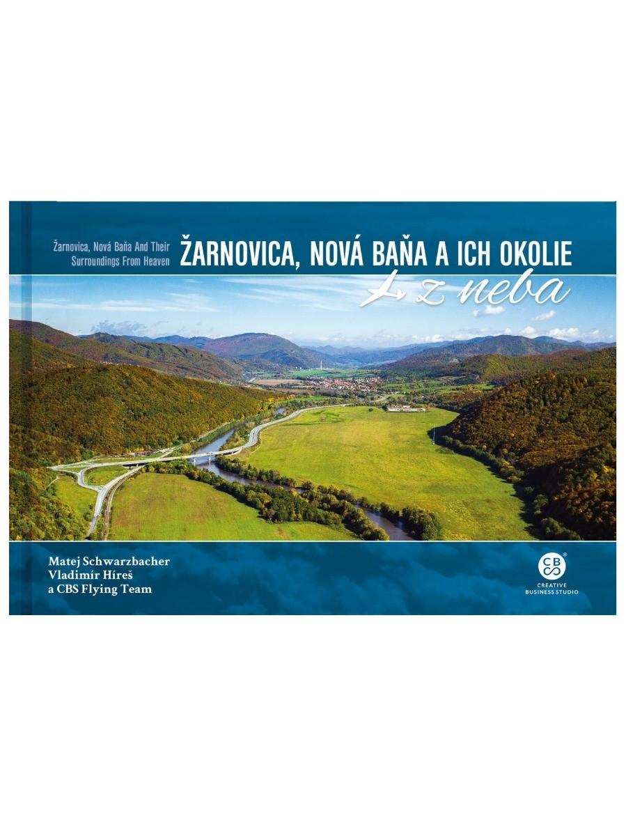 Žarnovica, Nová Baňa a ich okolie z neba