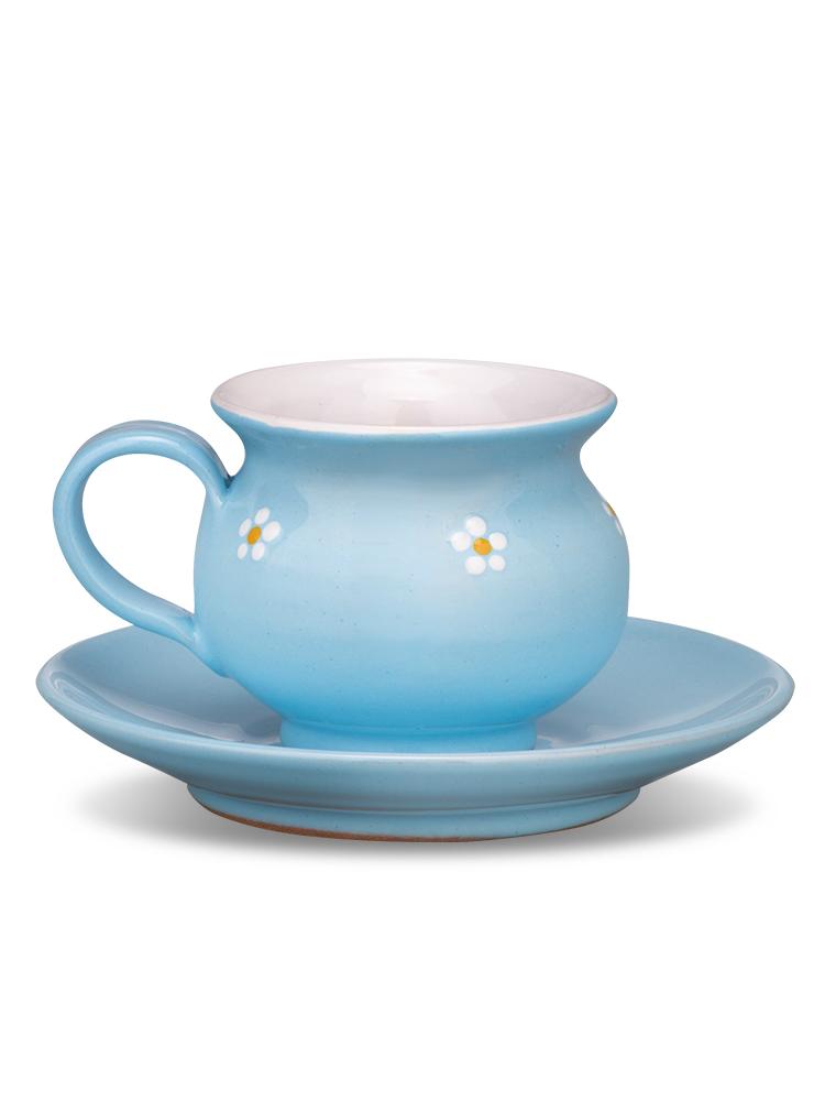 Šáločka s tanierikom mini nebíčková