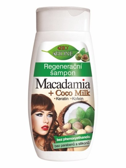 Bione Cosmetics - Regeneračný šampón Macadamia 260ml