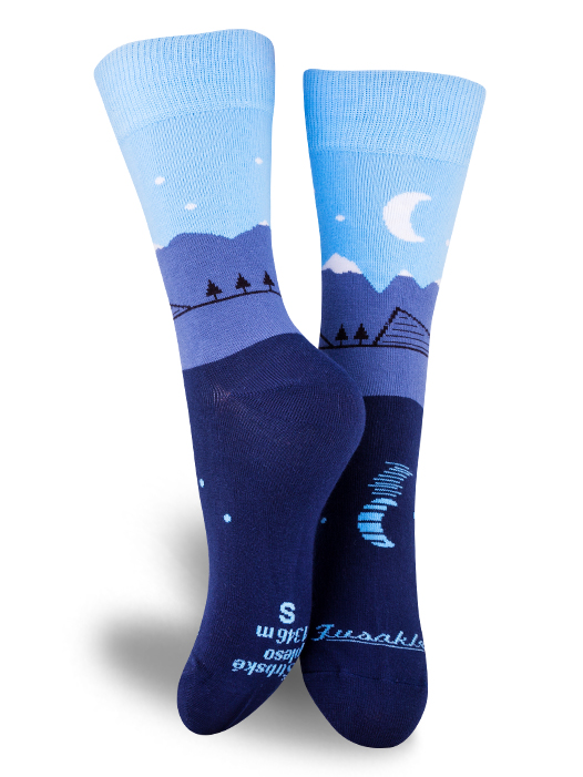 Fusakle ponožky Štrbské pleso