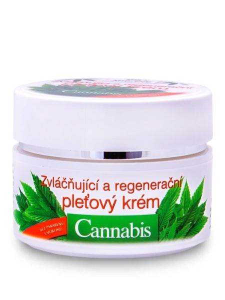 Bione Cosmetics - Regeneračný pleťový krém Cannabis 51ml
