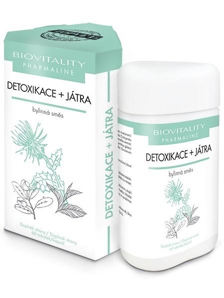Topvet Detoxikácia + Pečeň bylinná zmes 60 kapsúl