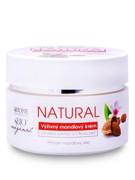 Bione Cosmetics - Výživný natural pleťový krém Mandle 51ml