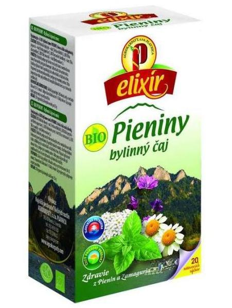 Agrokarpaty pieniny bio bylinný čaj 20x1,5g
