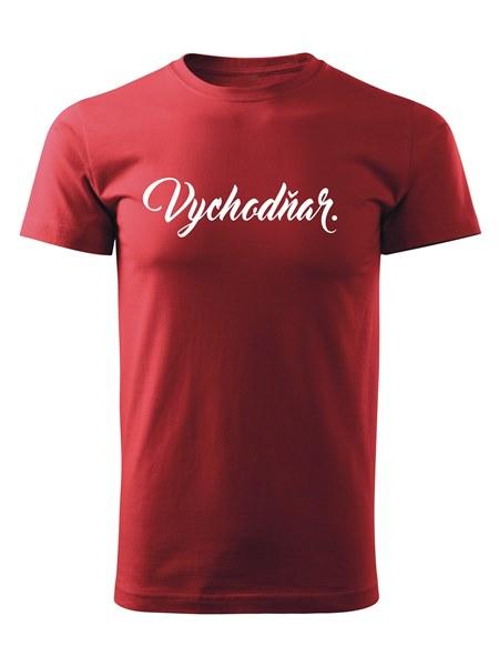 Tričko vychodňar Unisex Červené