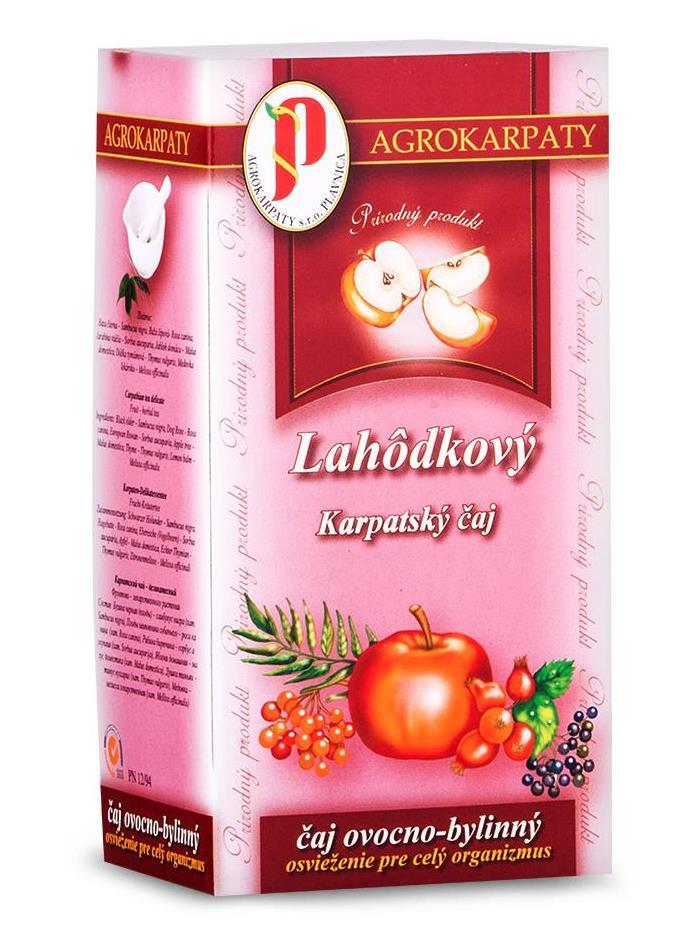 Agrokarpaty lahôdkový čaj ovocno bylinný 20x3g