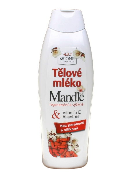 Bione Cosmetics - Telové mlieko Mandle 500ml