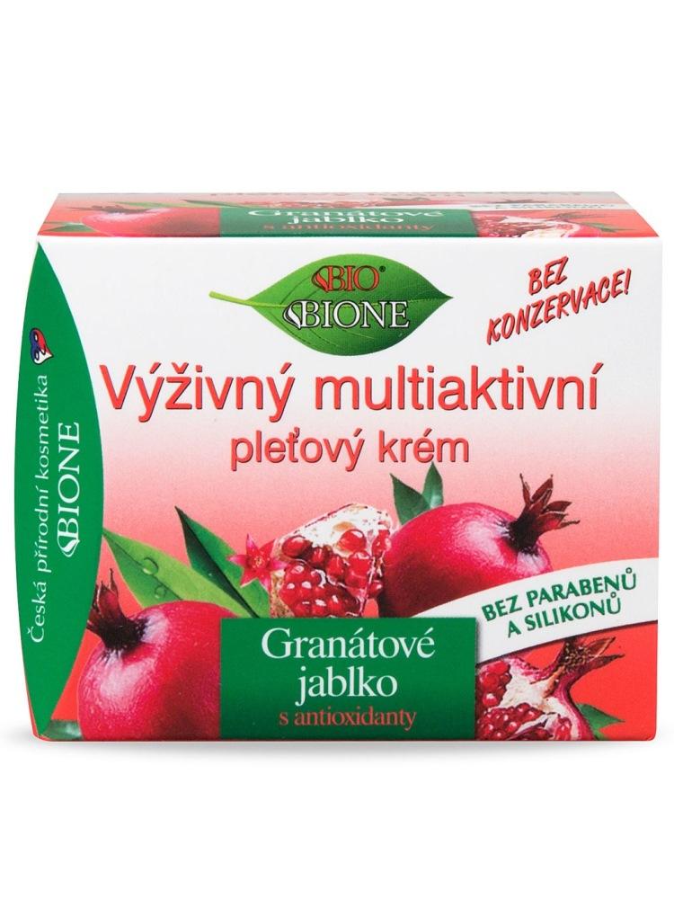 Bione Cosmetics - Výživný multiaktívny krém Granátové jablko 51ml