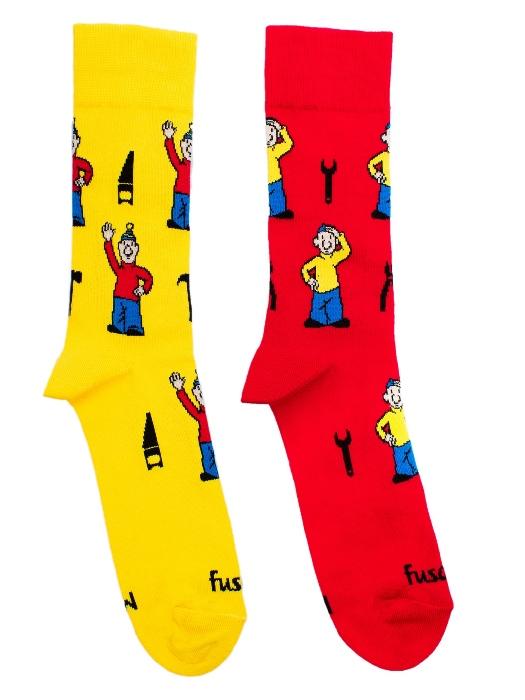 Fusakle ponožky detský Pat a Mat